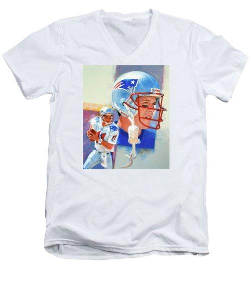 Drew Bledsoe Men's V-Neck T-Shirt