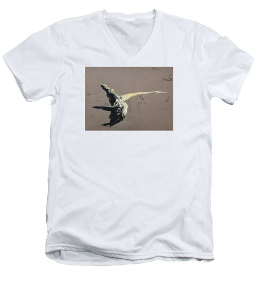 Coastal Driftwood Men's V-Neck T-Shirt