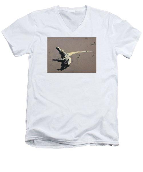 Coastal Driftwood Men's V-Neck T-Shirt