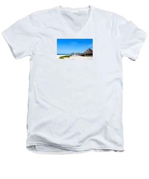 Drinks On Me Men's V-Neck T-Shirt