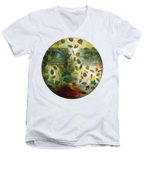 Dripping Souls Men's V-Neck T-Shirt
