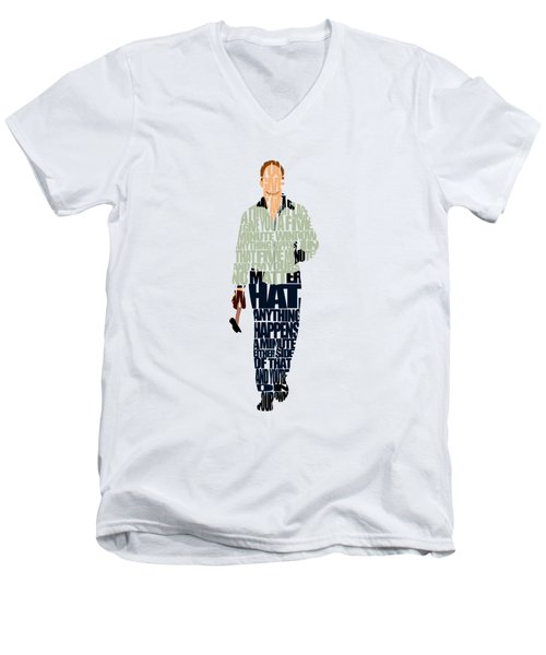 Driver - Ryan Gosling Men's V-Neck T-Shirt