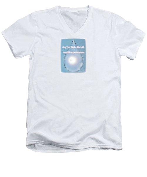 Drops Of Sunshine Men's V-Neck T-Shirt