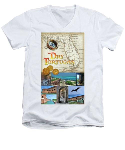 Dry Tortugas Men's V-Neck T-Shirt
