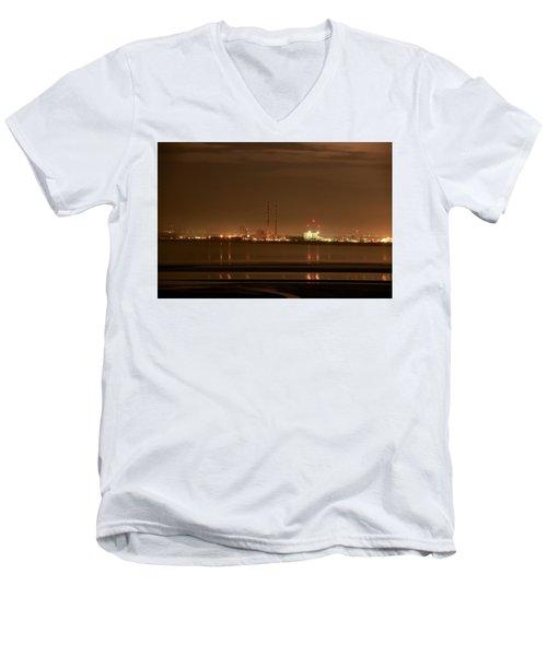 Dublin Glow Men's V-Neck T-Shirt