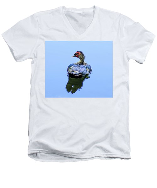 Duck Men's V-Neck T-Shirt