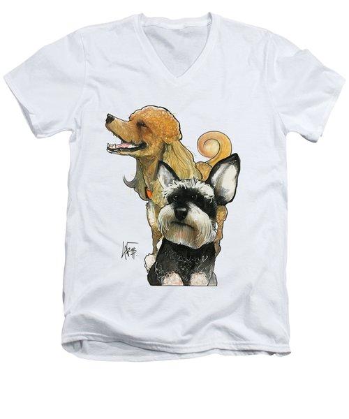Dudot 7-1467 Men's V-Neck T-Shirt