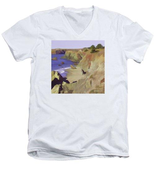 Above Bodega Men's V-Neck T-Shirt
