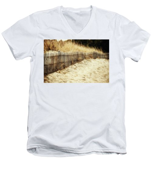 Dune Fence Men's V-Neck T-Shirt