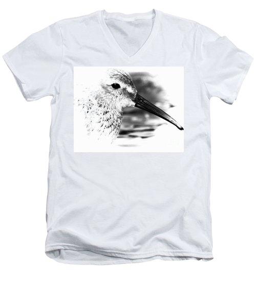 Dunlin Sandpiper Men's V-Neck T-Shirt