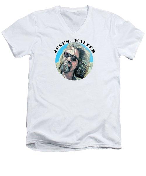 Dusted Men's V-Neck T-Shirt