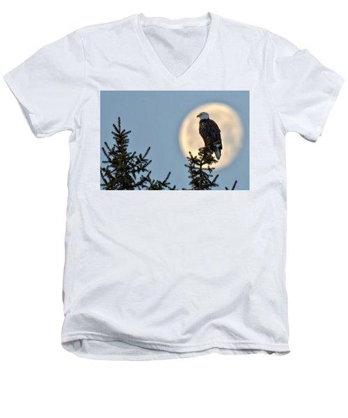 Eagle Moon Men's V-Neck T-Shirt