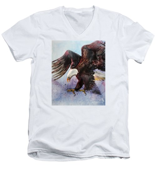 Eagle Of Light Men's V-Neck T-Shirt