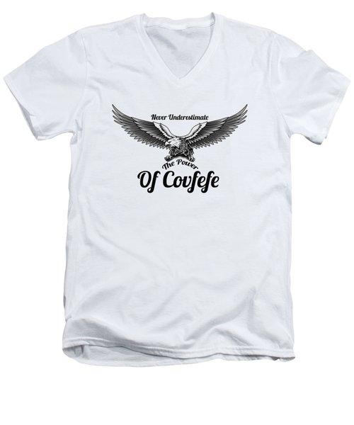 Eagle Power Men's V-Neck T-Shirt