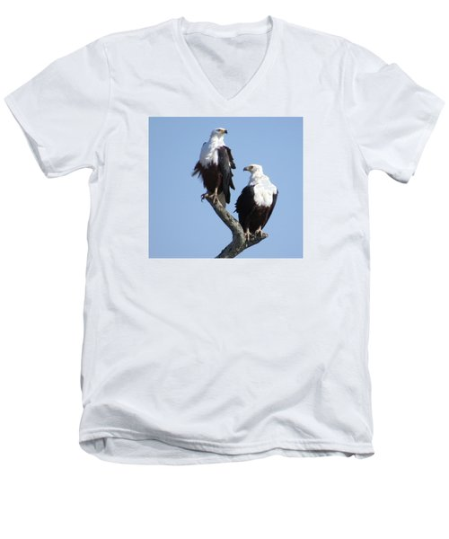 Eagles Men's V-Neck T-Shirt