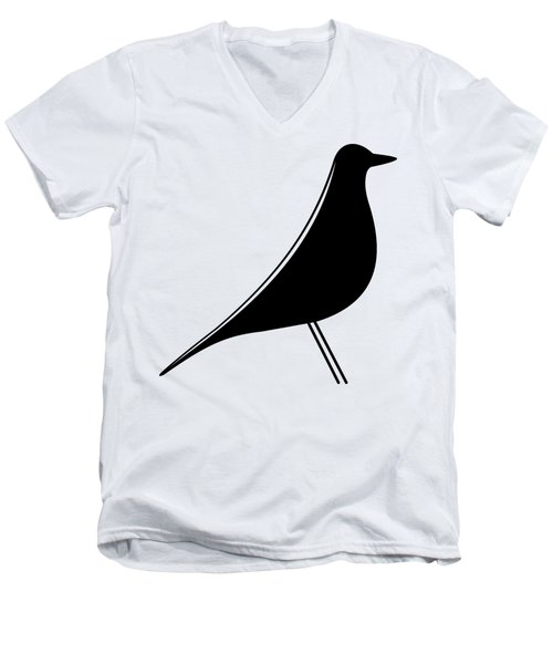 Eames Bird  Men's V-Neck T-Shirt