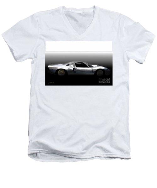 Early Gt40 Men's V-Neck T-Shirt