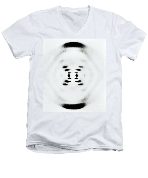Early Image Of Dna Men's V-Neck T-Shirt by Omikron