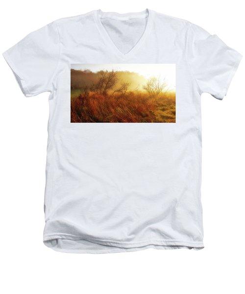 Early Morning Country Men's V-Neck T-Shirt