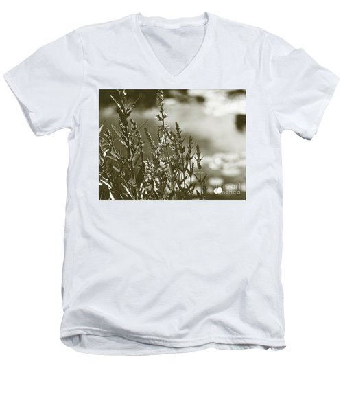 Early Morning Reflections Men's V-Neck T-Shirt