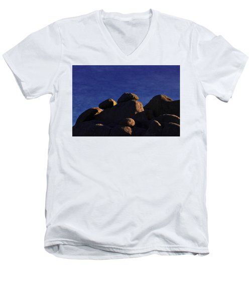 Earth And Sky Men's V-Neck T-Shirt