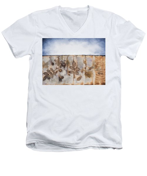 Earth And Sky II Men's V-Neck T-Shirt