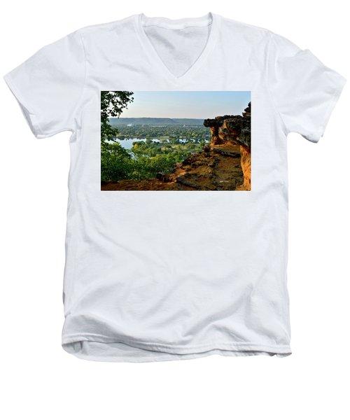 East Lake Winona Men's V-Neck T-Shirt