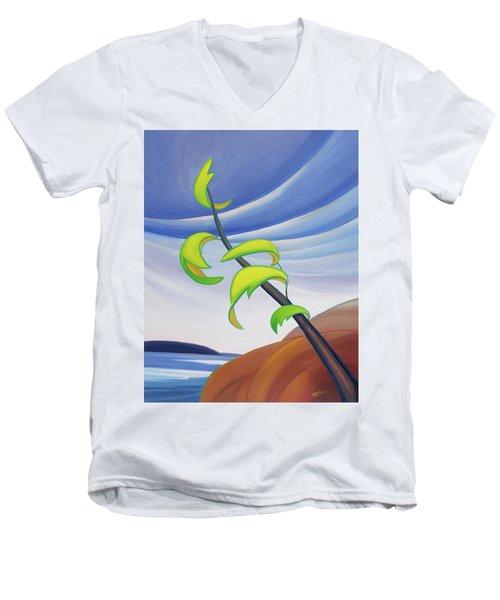 East Wind Men's V-Neck T-Shirt