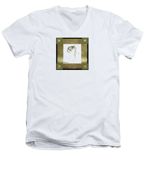 East Wind - Small Gathering Men's V-Neck T-Shirt