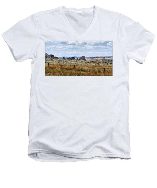Eastern Wyoming Sky Men's V-Neck T-Shirt