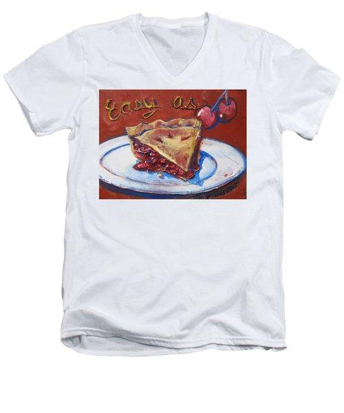Easy As Pie Men's V-Neck T-Shirt