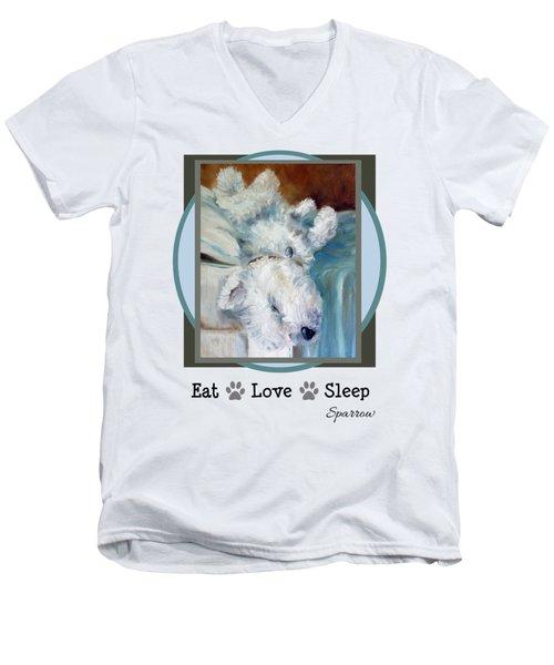 Eat Love Sleep Men's V-Neck T-Shirt
