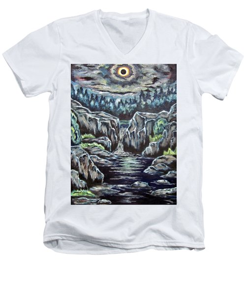 Eclipse 2 Men's V-Neck T-Shirt