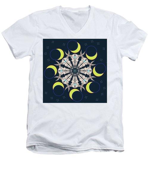 Eclipse 2 Men's V-Neck T-Shirt