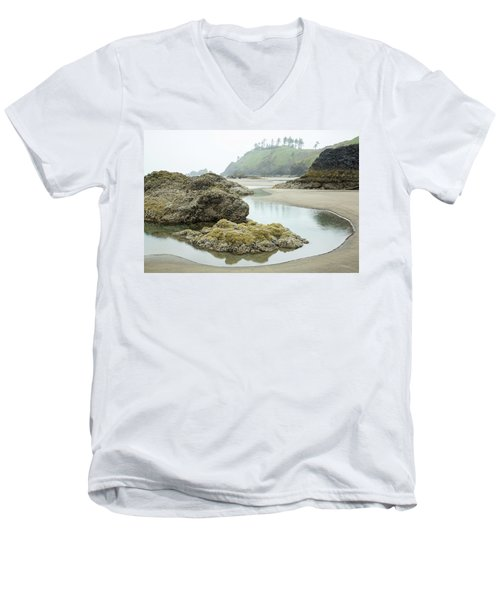 Ecola Tidepool Men's V-Neck T-Shirt