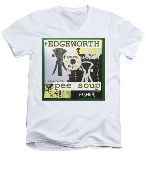 Edgeworth Pee Soup Album Cover Design Men's V-Neck T-Shirt
