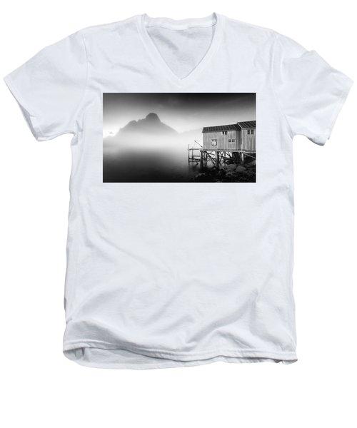 Egulfed By Mist Men's V-Neck T-Shirt
