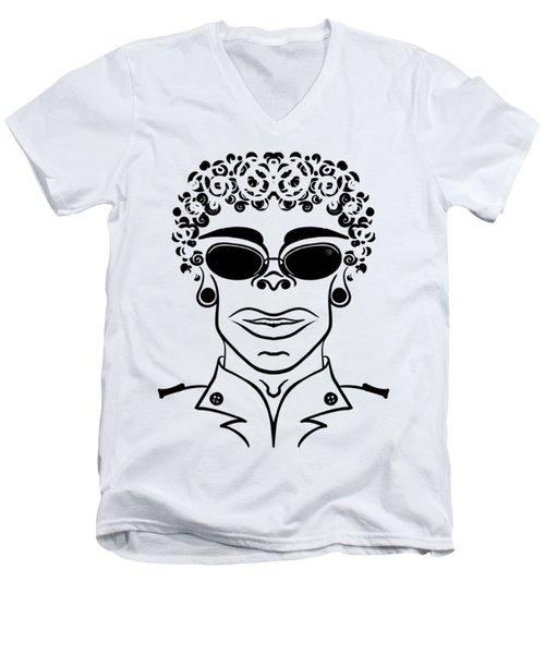 El General Men's V-Neck T-Shirt