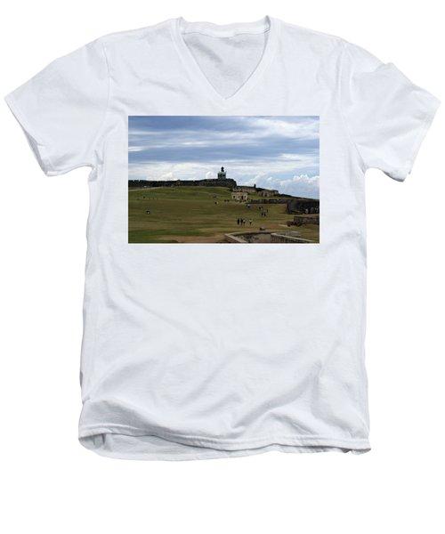 El Morro Men's V-Neck T-Shirt