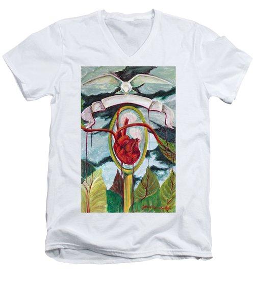 El Reflejo Men's V-Neck T-Shirt