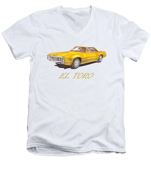 1970 Toronado El Toro Toronado Men's V-Neck T-Shirt