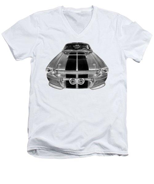 Eleanor Ford Mustang Men's V-Neck T-Shirt