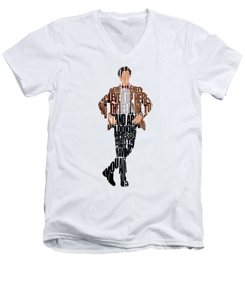 Eleventh Doctor - Doctor Who Men's V-Neck T-Shirt