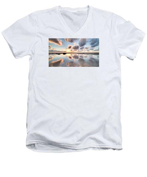 Elliott Calling #1 Men's V-Neck T-Shirt by Brad Grove