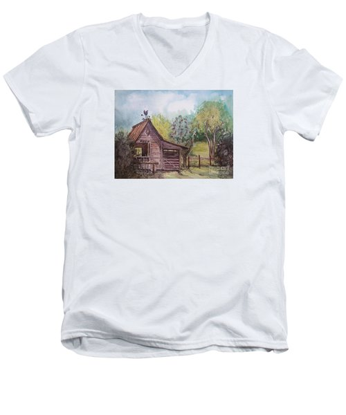 Elma's Horse Barn Men's V-Neck T-Shirt