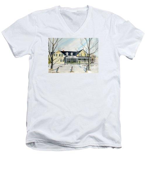 Elmridge Farm House Men's V-Neck T-Shirt