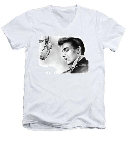 Elvis Presley Men's V-Neck T-Shirt