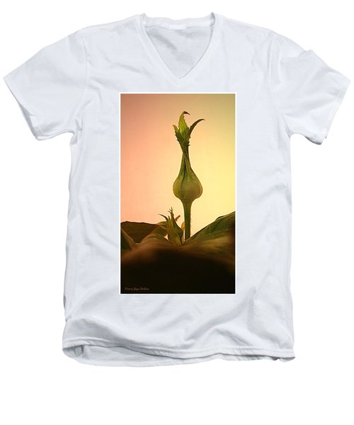 Men's V-Neck T-Shirt featuring the photograph Embrace by Joyce Dickens