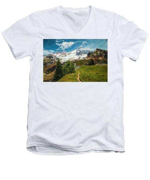 Emerald View Men's V-Neck T-Shirt
