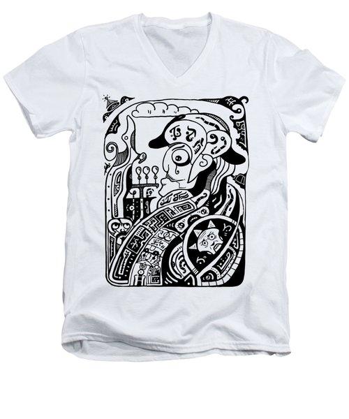 Emperor Men's V-Neck T-Shirt